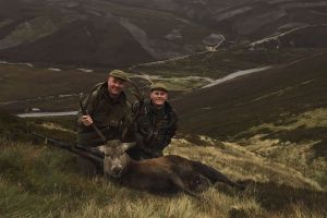 A hunting trip to Scotland is the complete package